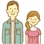 夫婦のイラスト