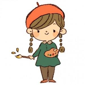 園児の女の子