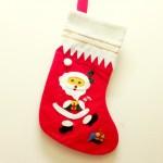 サンタさんの靴下