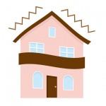 地震で揺らぐ家