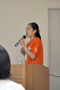 加藤さんのスピーチ